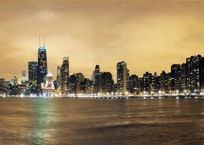 Search Results For Chicago Skyline Night Wallpaper Adorable Wallpapers
