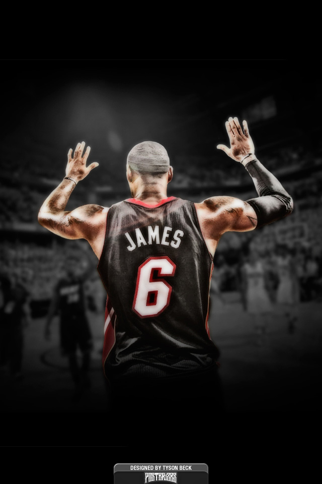 Lebron James IPhone Wallpapers 001