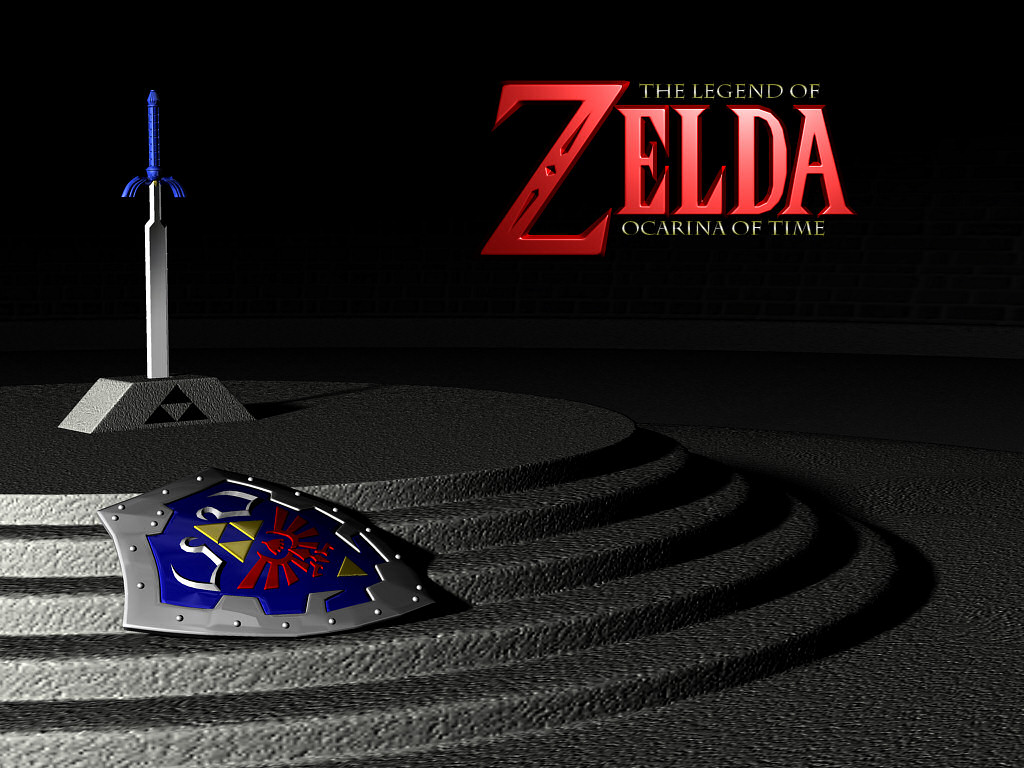 Zelda Ocarina Of Time Wallpapers 001
