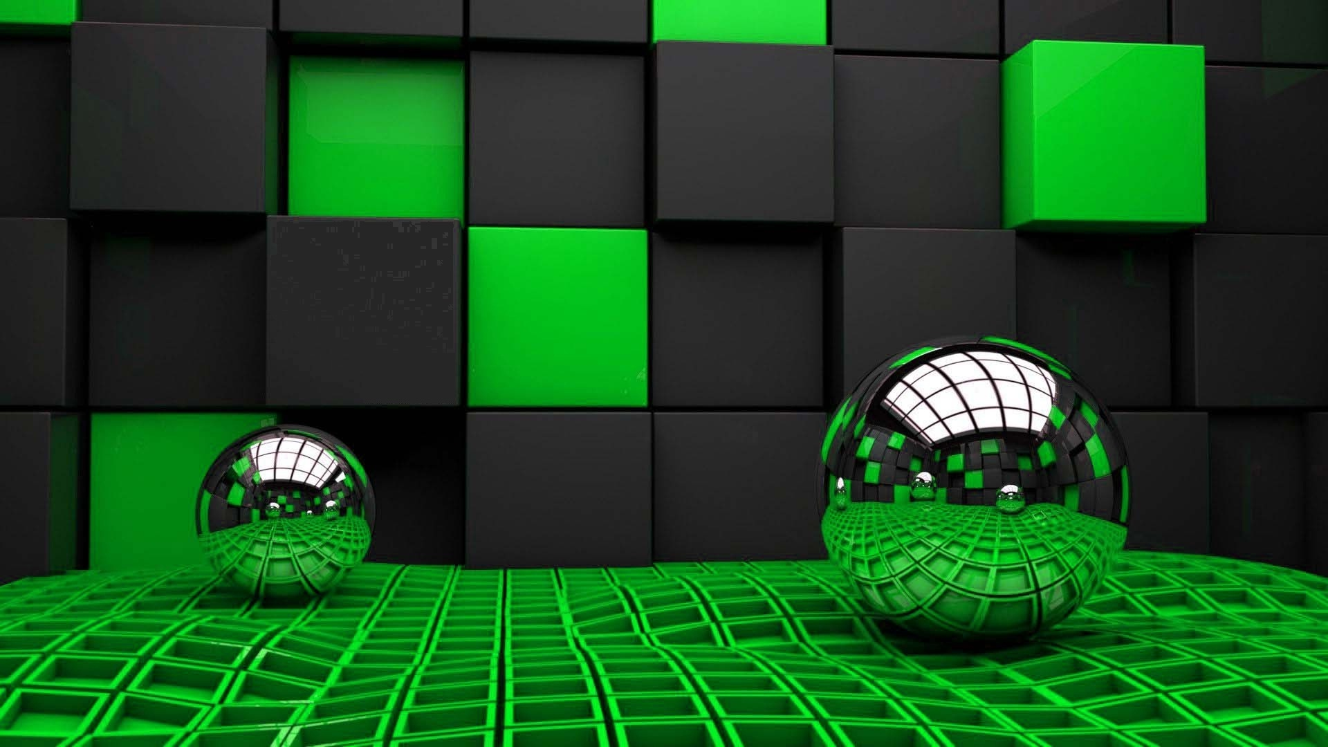 www Green and black D wallpapers  HD Wallpapers Rocks 1920x1080