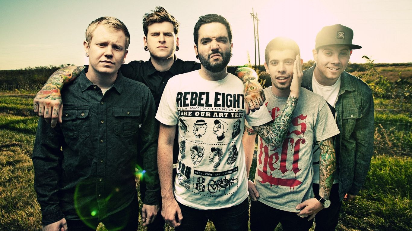HD A Day To Remember Wallpapers and Photos  HD Music Wallpapers 1366x768