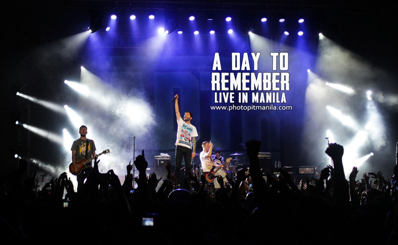 A Day To Remember Live Wallpaper  photogram 1280x788