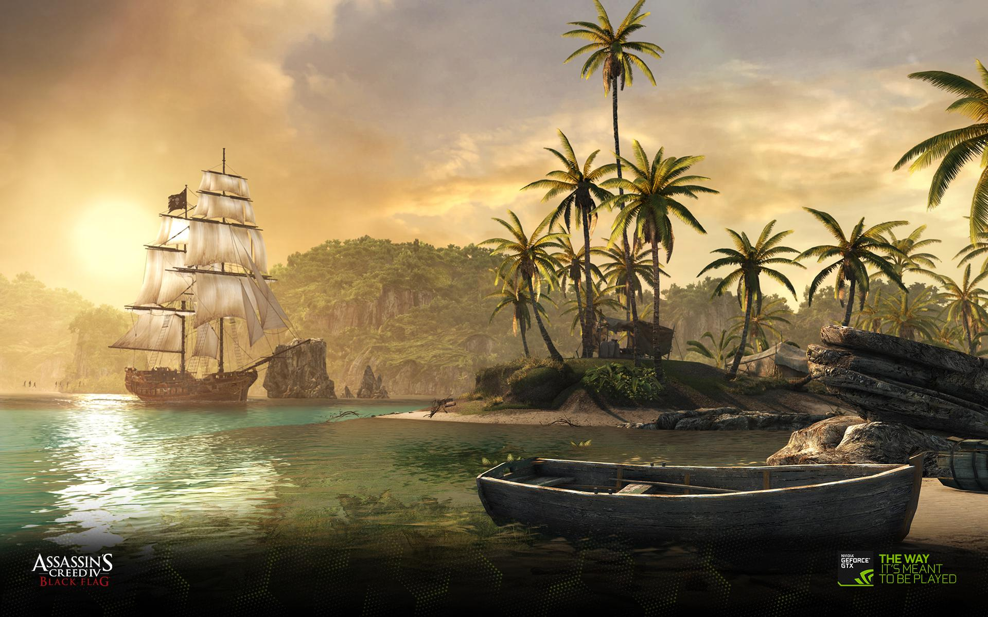 Assassins Creed Iv Black Flag Hd Desktop Wallpaper