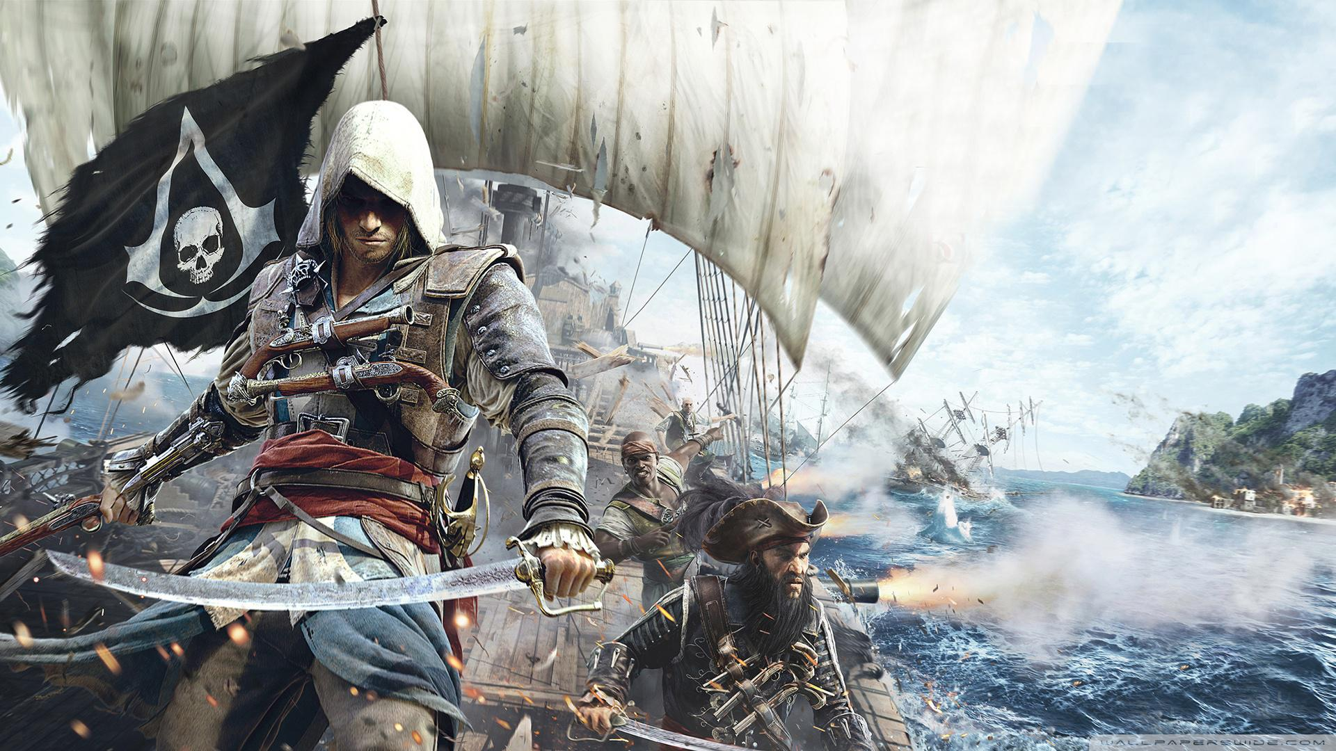 Assassins Creed IV Black Flag HD Wallpapers