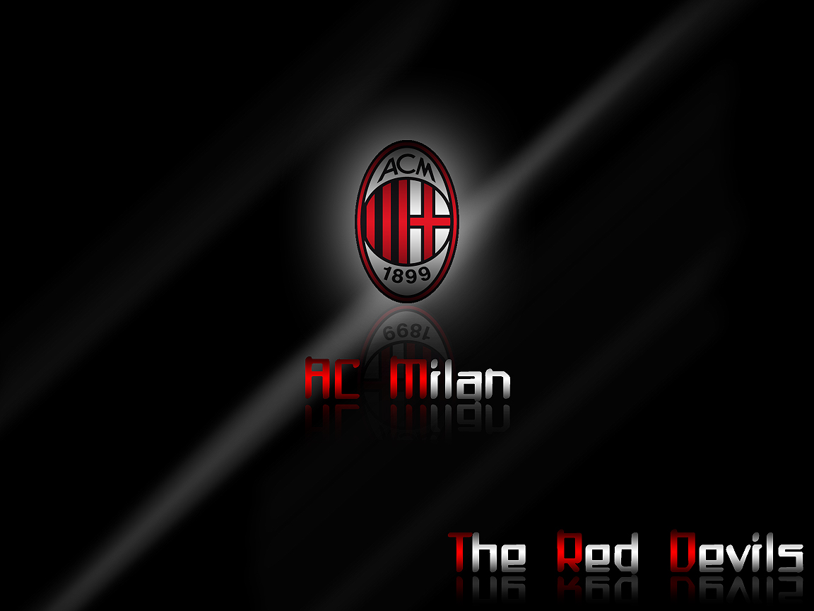 Best AC Milan Logo Wallpaper Wallpaper