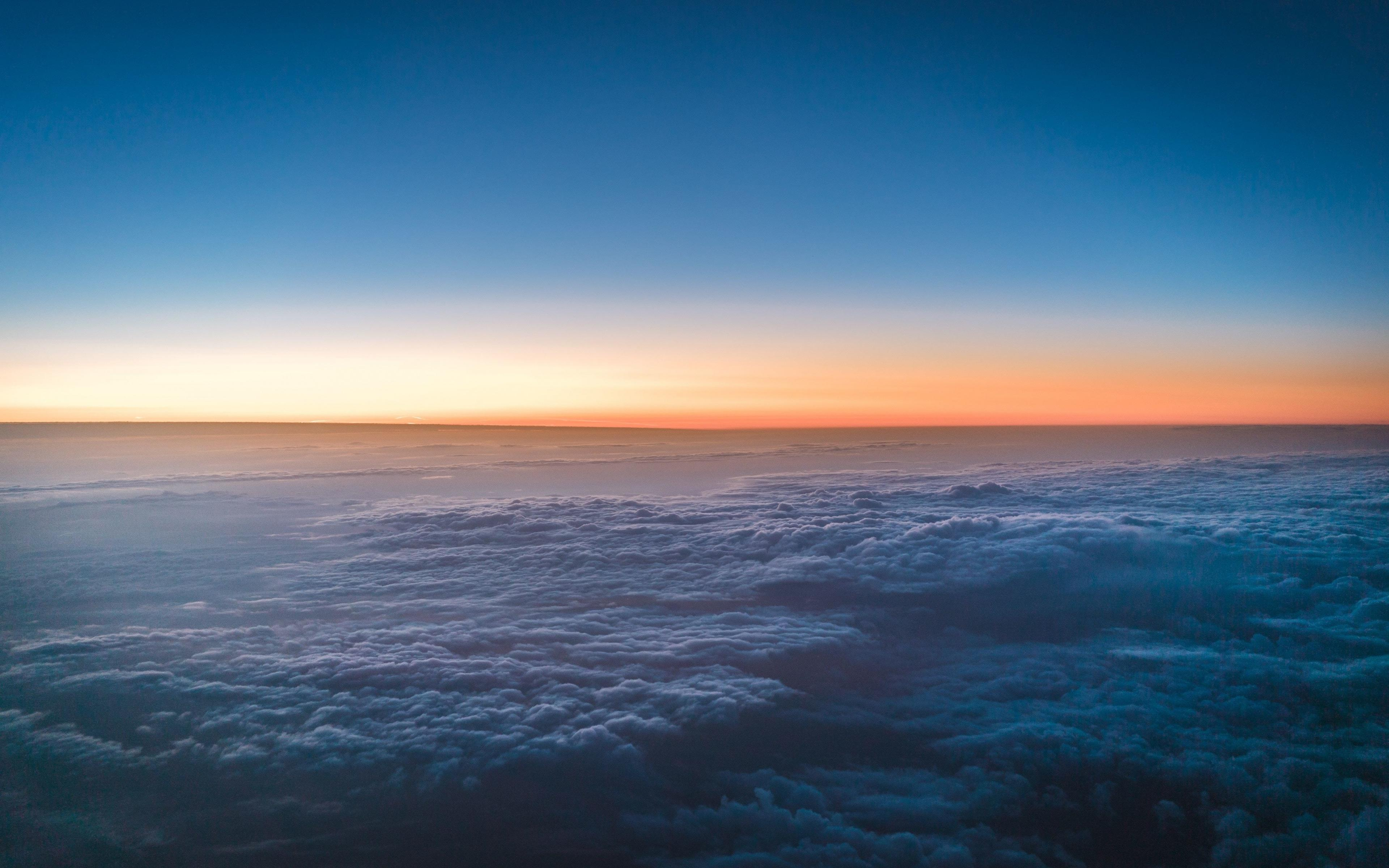 Sky Above Clouds High Definition Wallpaper