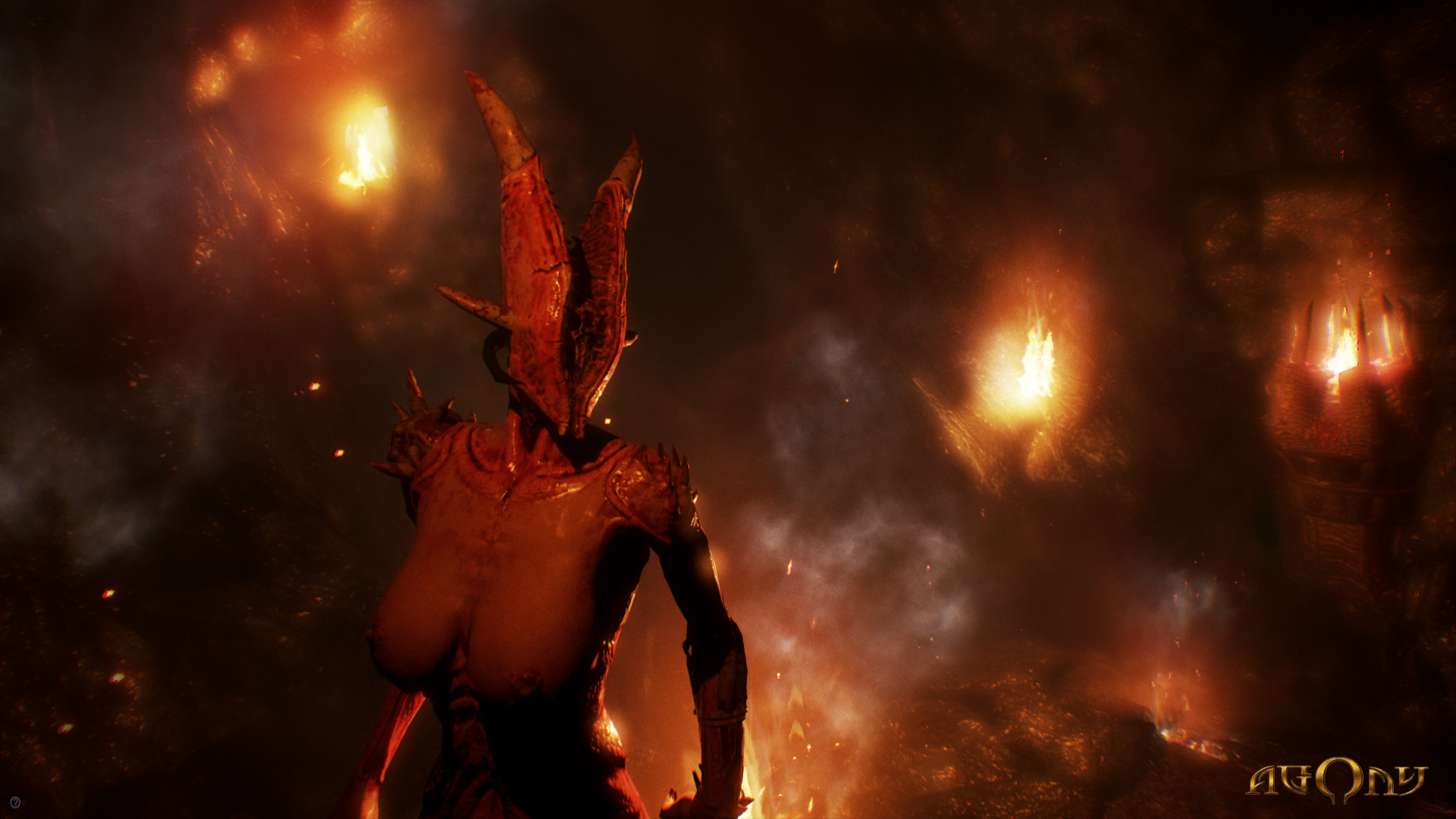 Agony Interview Devs Talk About Horror Games Length Inspiration