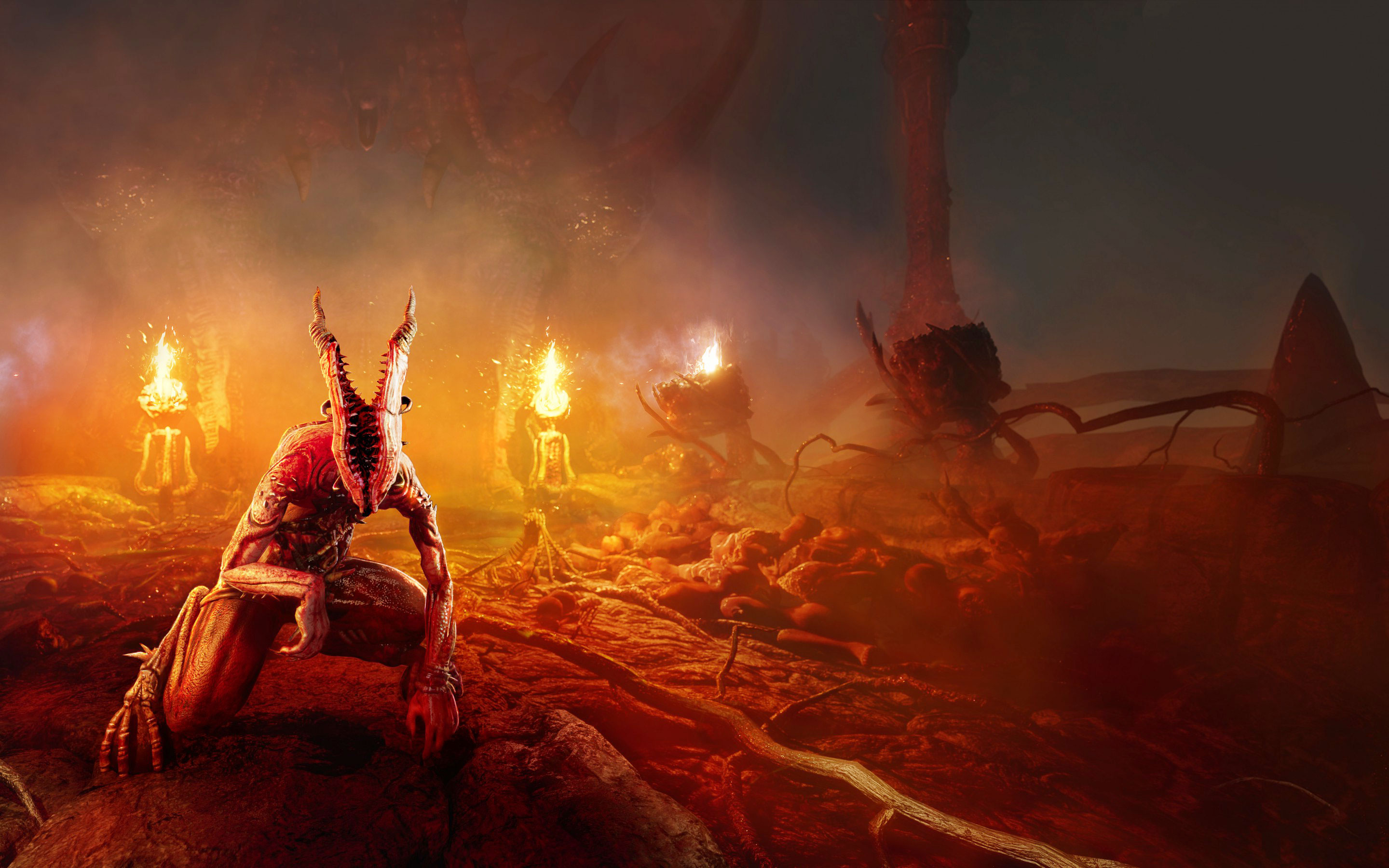 Agony Survival Horror Playstation Xbox One Pc Desktop