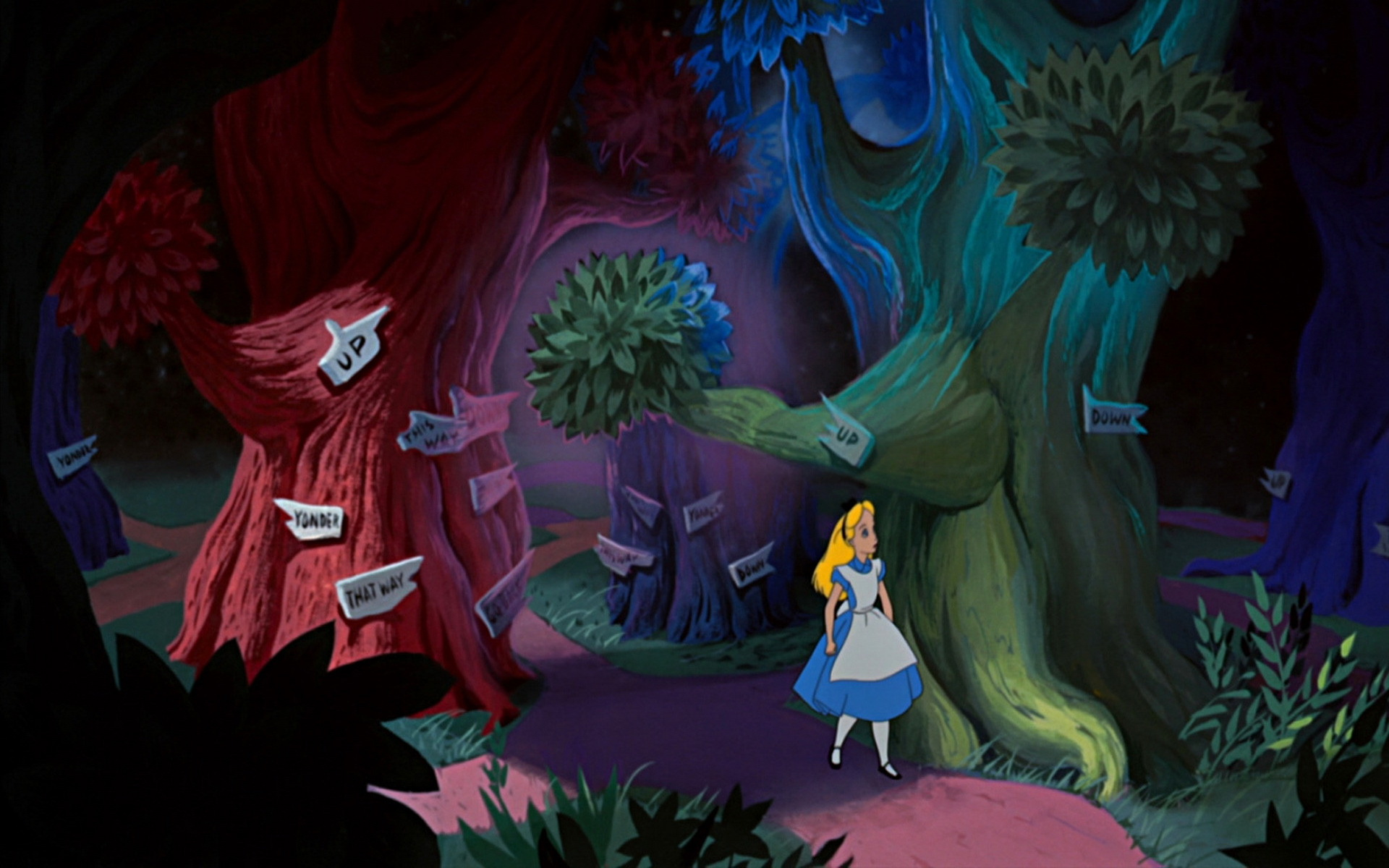 Alice In Wonderland Cartoon HD Desktop Backgrounds  All HD Wallpapers 1920x1200