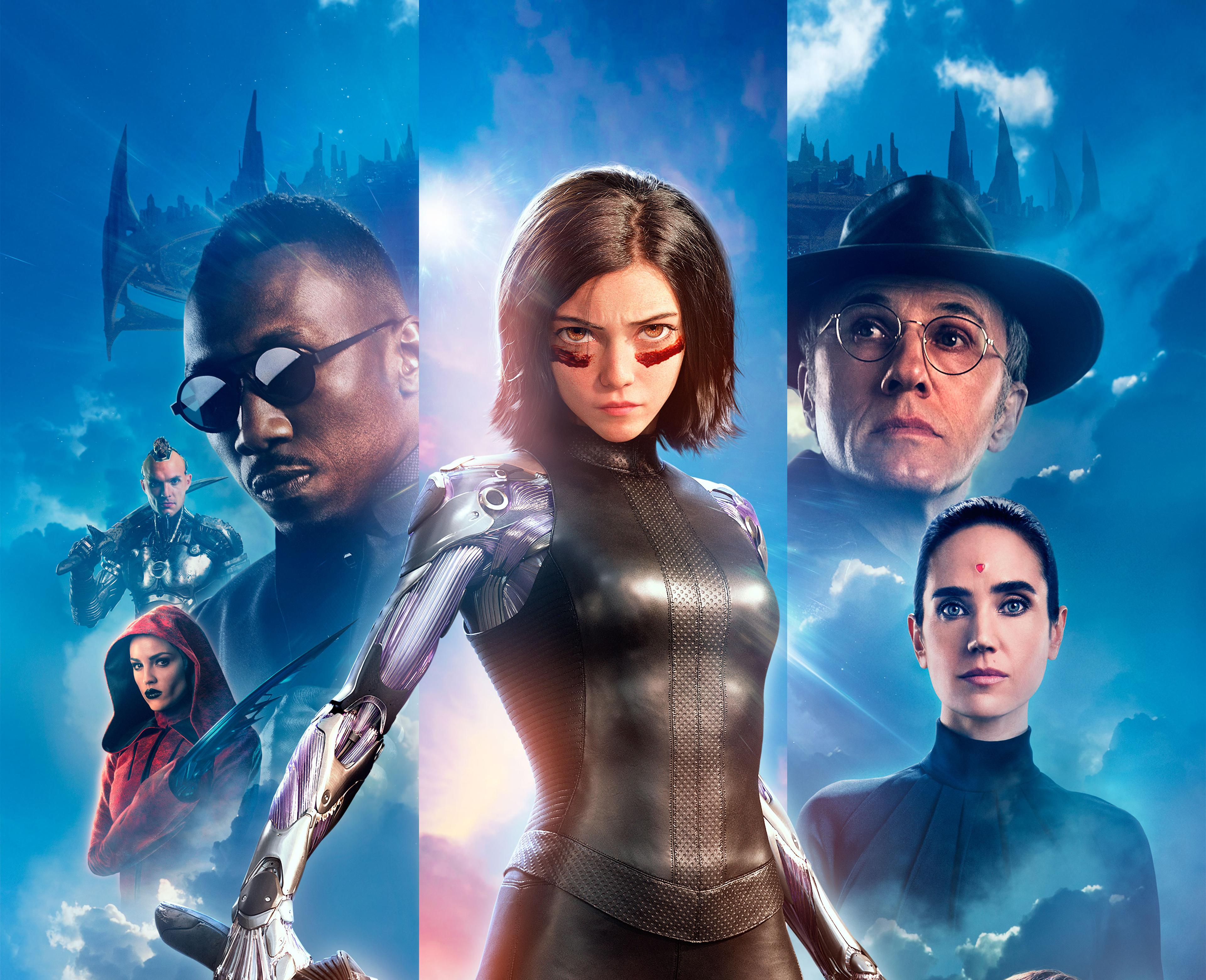 Wallpaper Alita Battle Angel K K Movies
