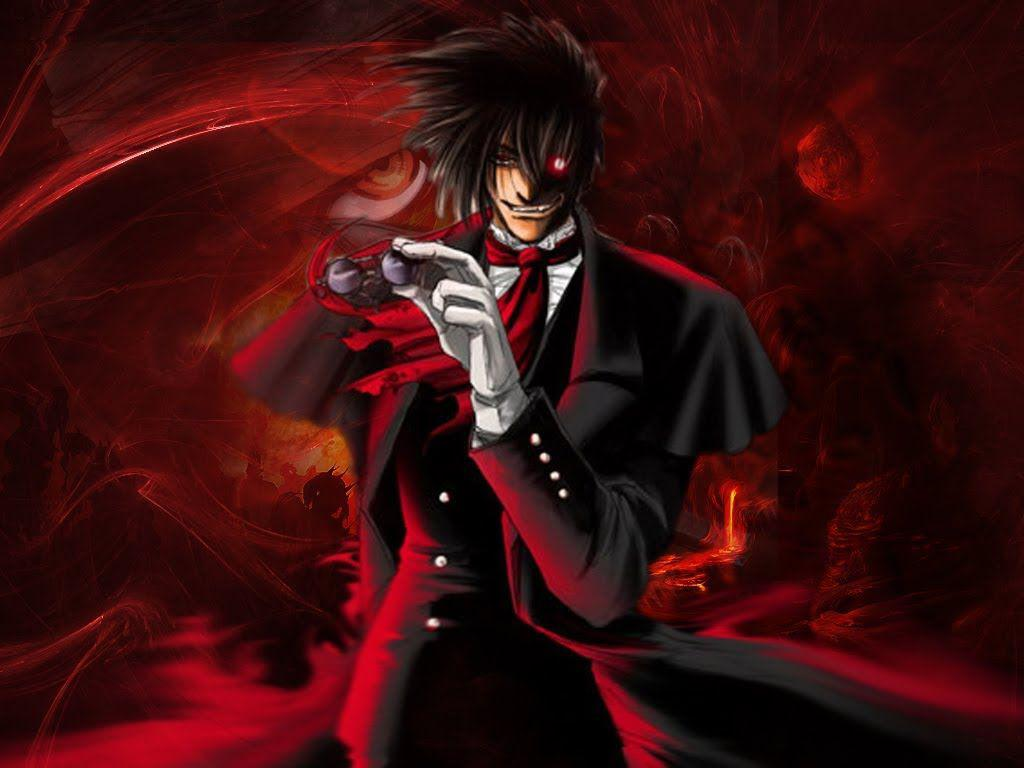 Download x wallpaper minimal alucard hellsing