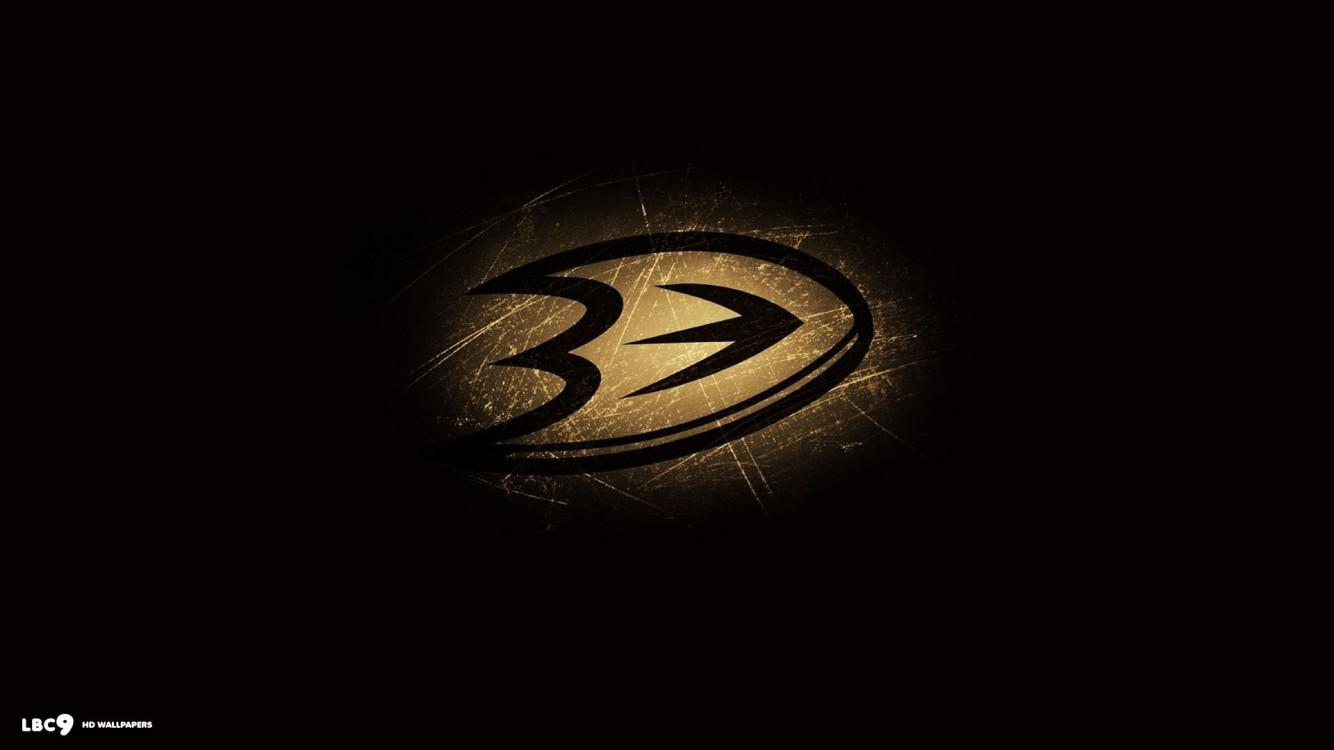 Download wallpapers Anaheim Ducks k black and white