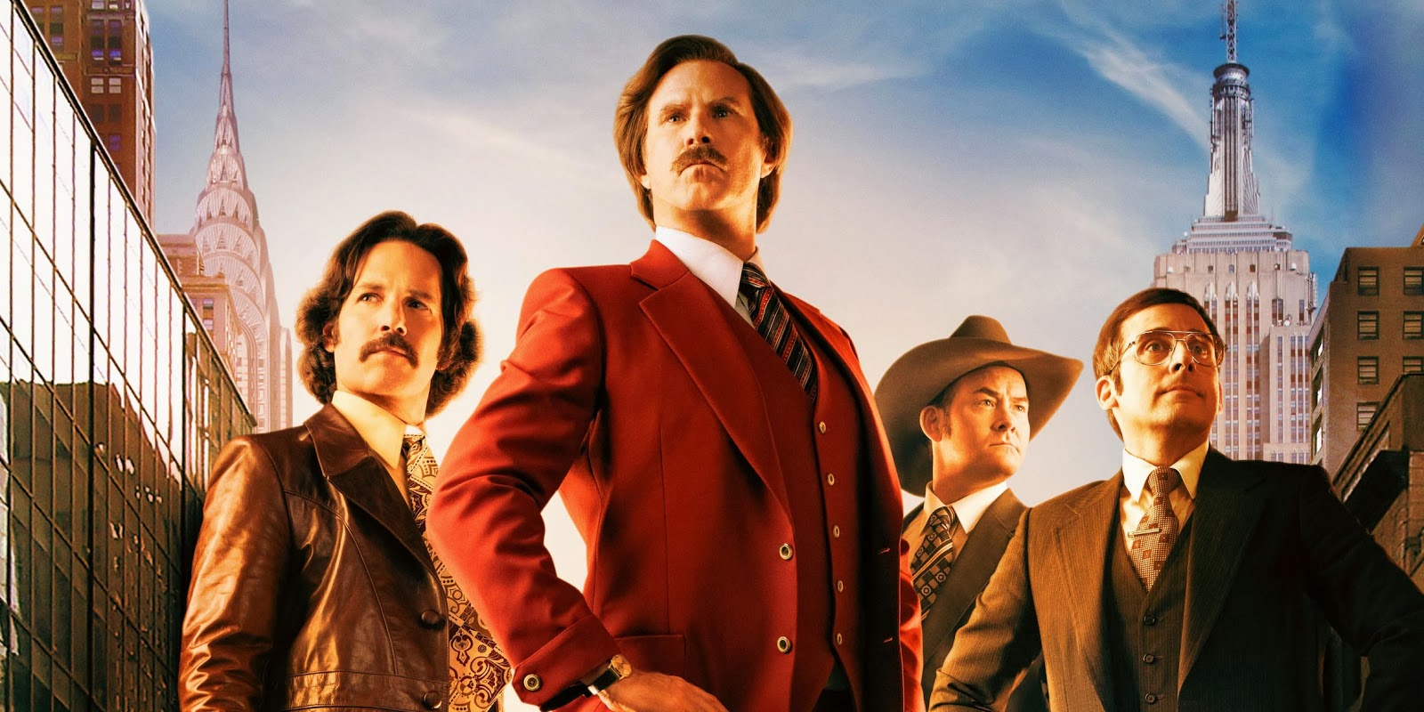Download Anchorman : Ron Burgundy And Brick Tamland Wallpaper For 1600x800