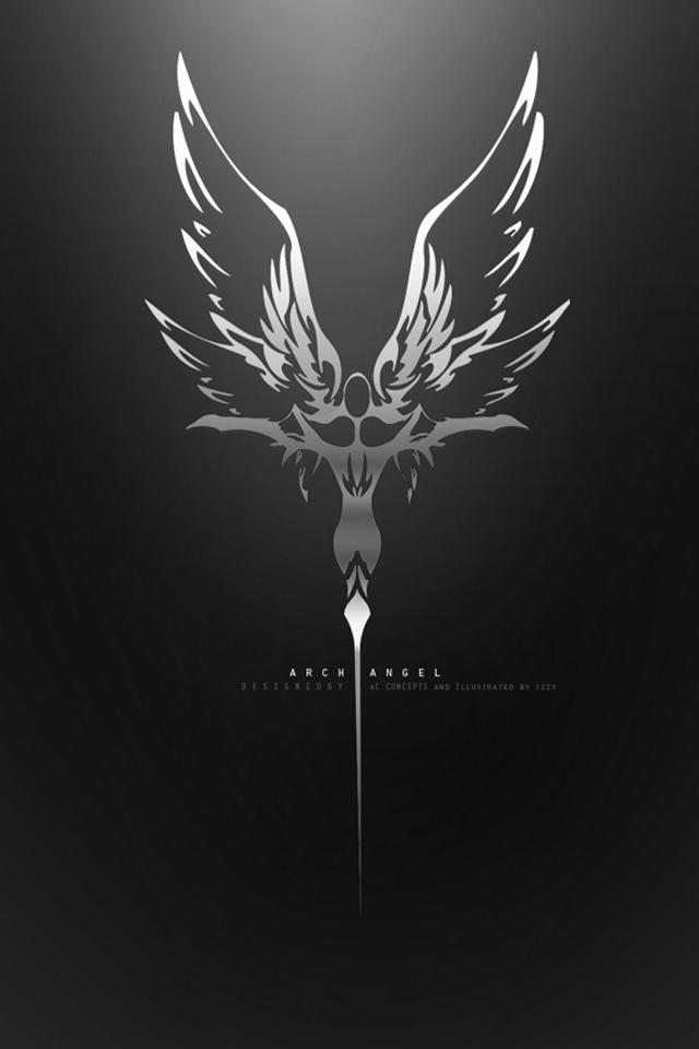 Dark angel hd desktop wallpaper high definition fullscreen 640x960 voltagebd Images