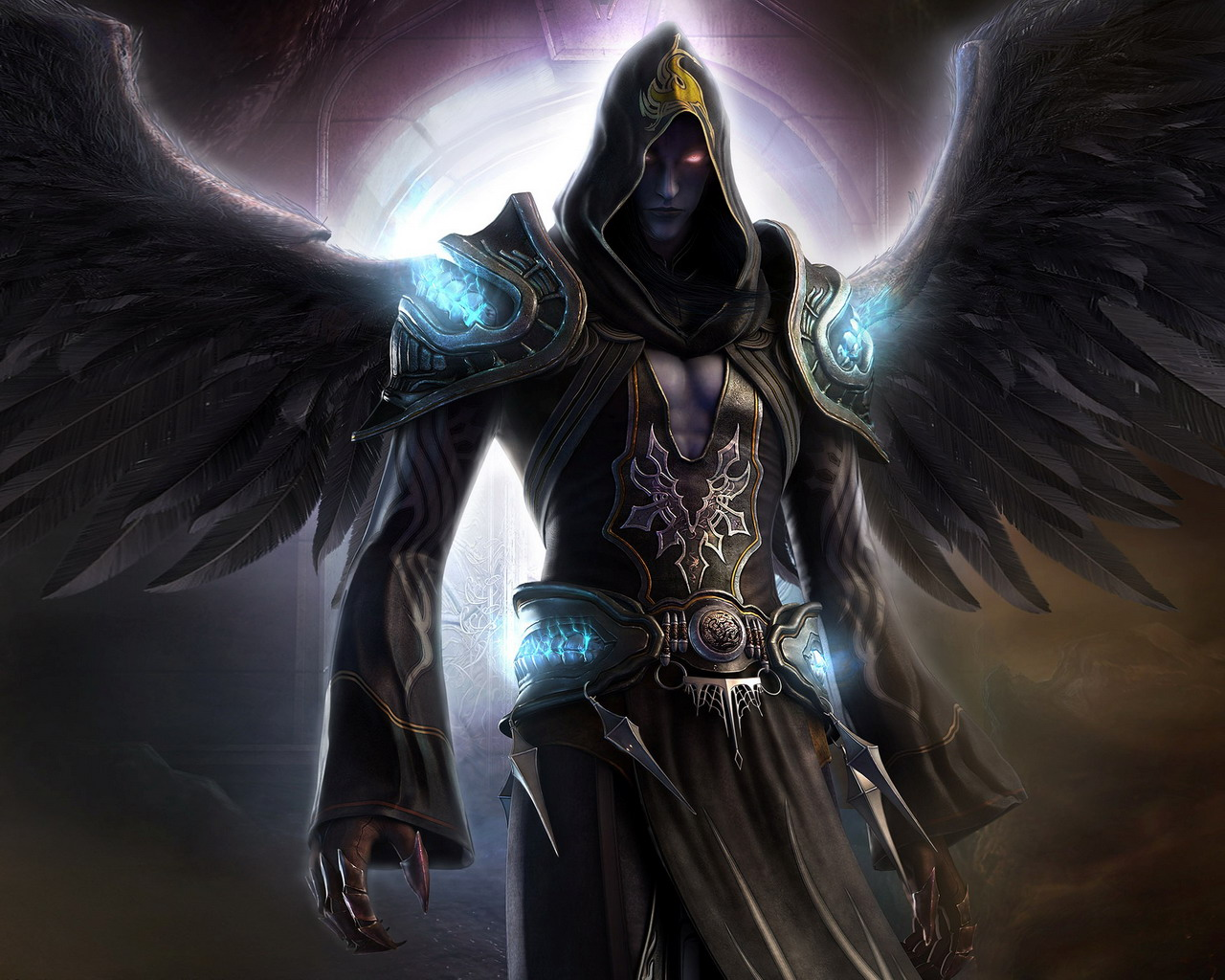 Angel Of Death Wallpaper FREE Download  Angel Of Death Wallpaper 1280x1024