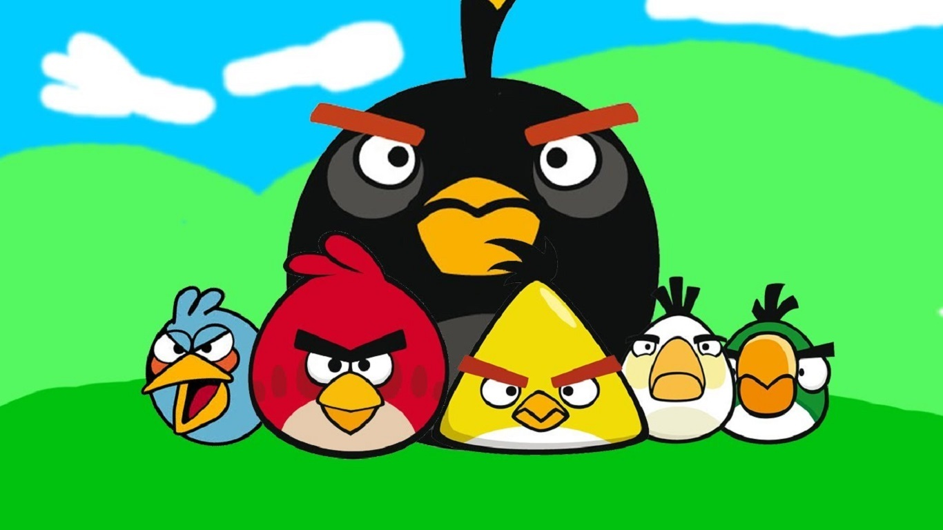 angry birds hd wallpapers and backgrounds 1366x768