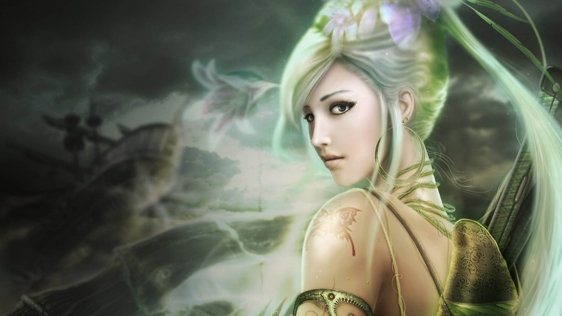 Pretty Fairy Wallpapers Group  1920x1080