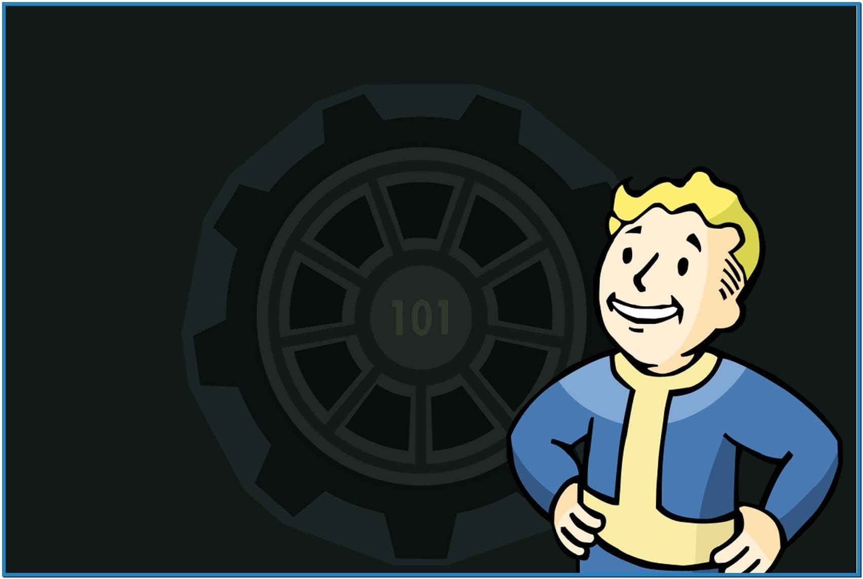 Animated Pip Boy Wallpaper