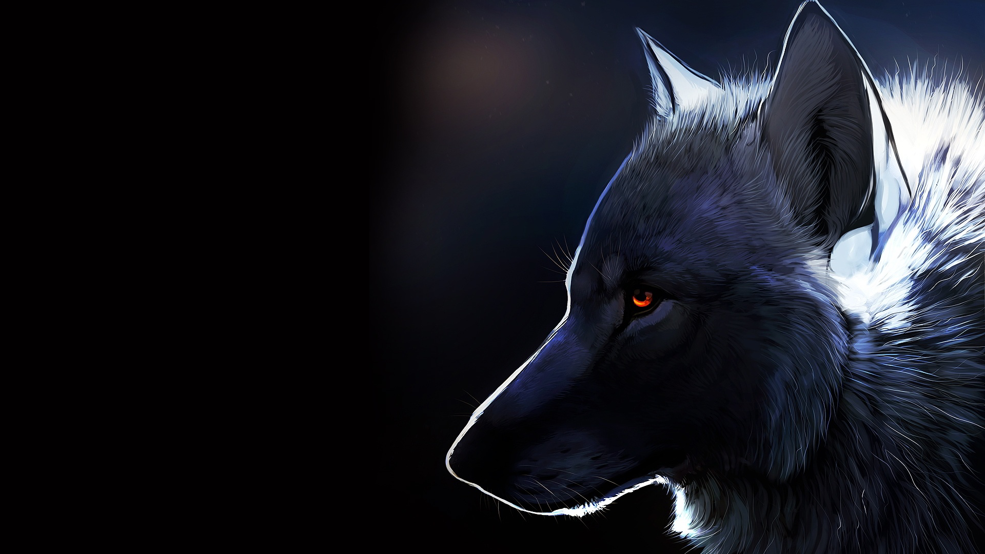 Animated Wolf Wallpaper 1920x1080