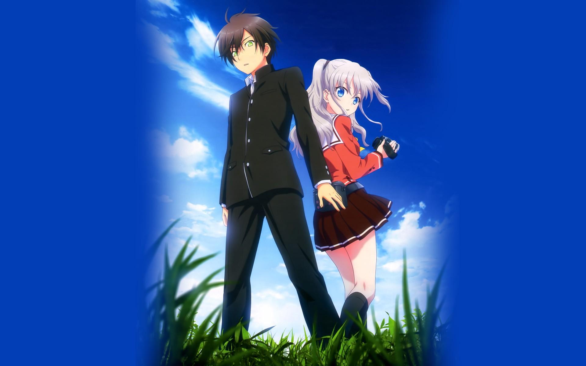 anime couple wallpaper