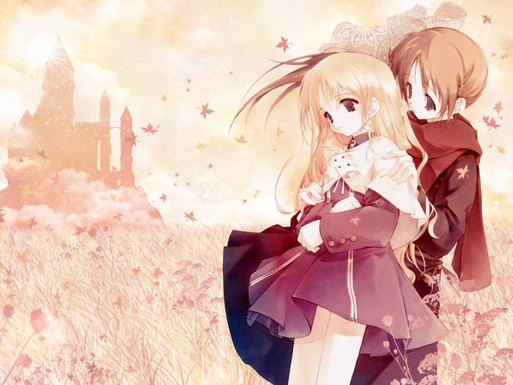 Beautiful Anime Couple Wallpaper Hd Images One Hd Wallpaper 736x552