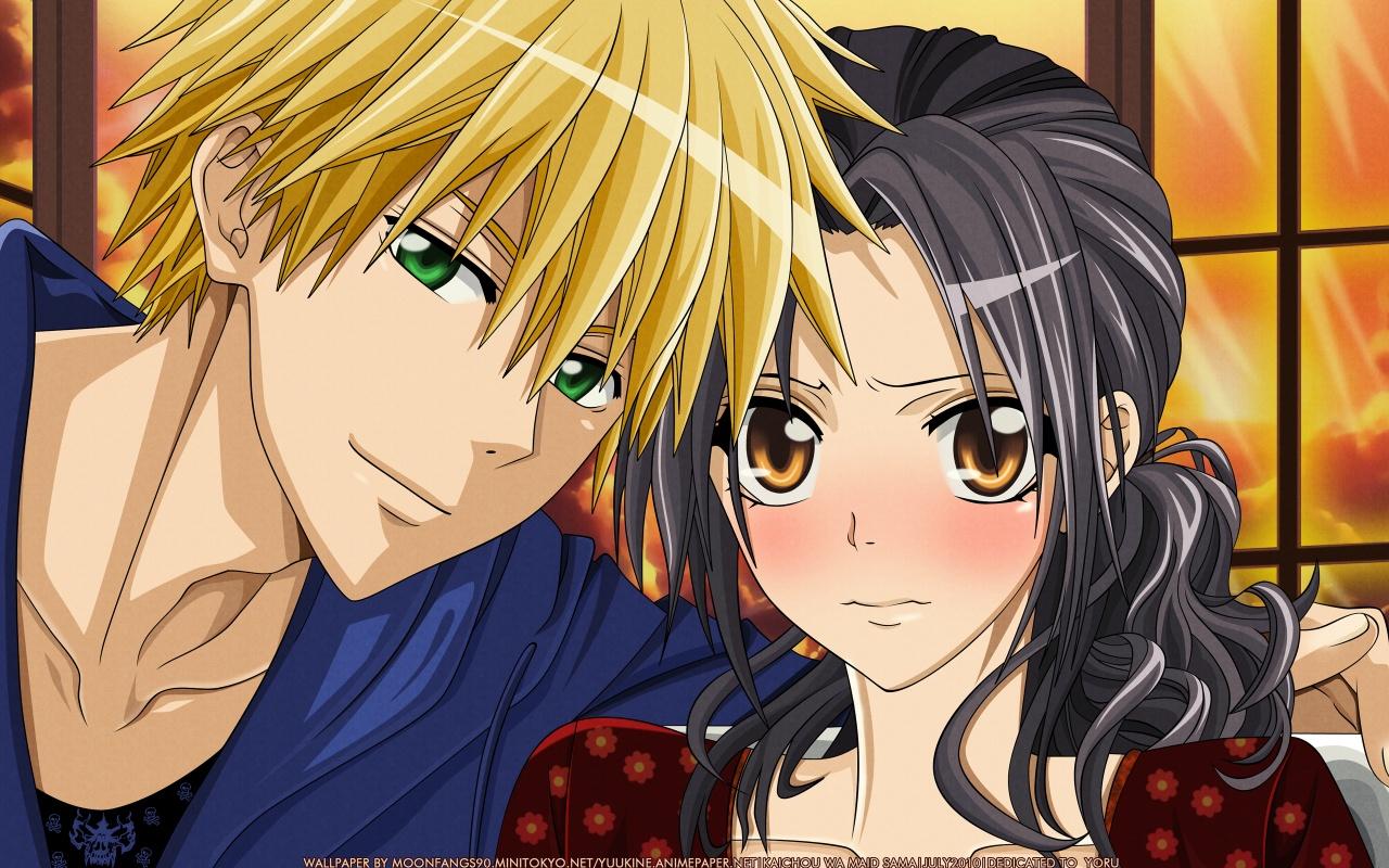 Sweet Anime Couple Wallpaper Free Wallpaper Download 1280x800