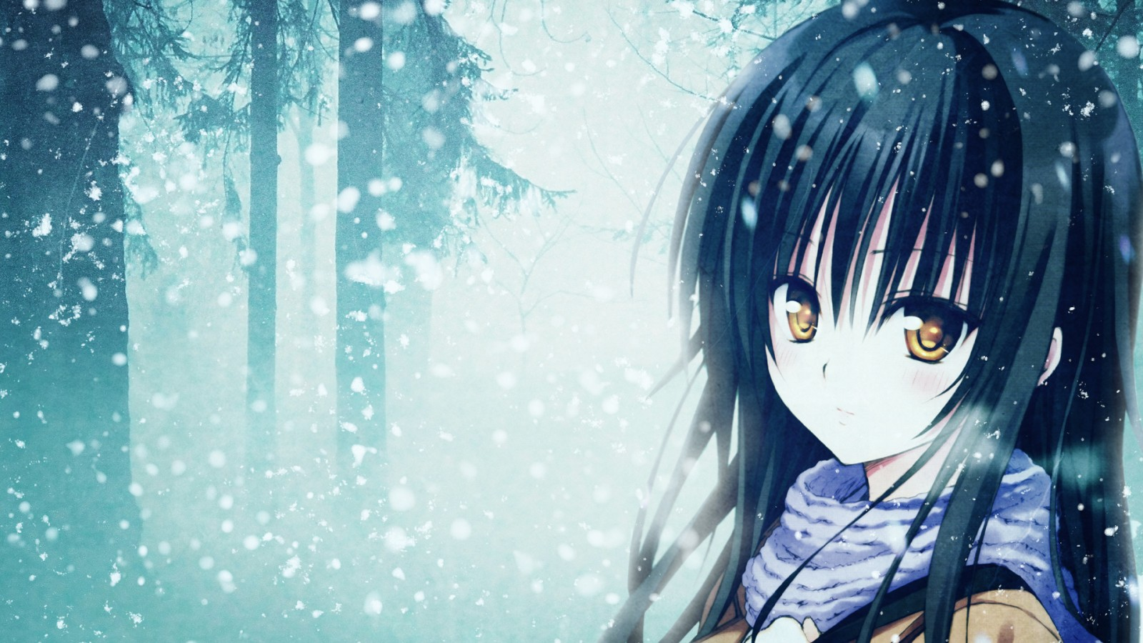 Anime Girl Wallpapers  Wallpaper  1600x900
