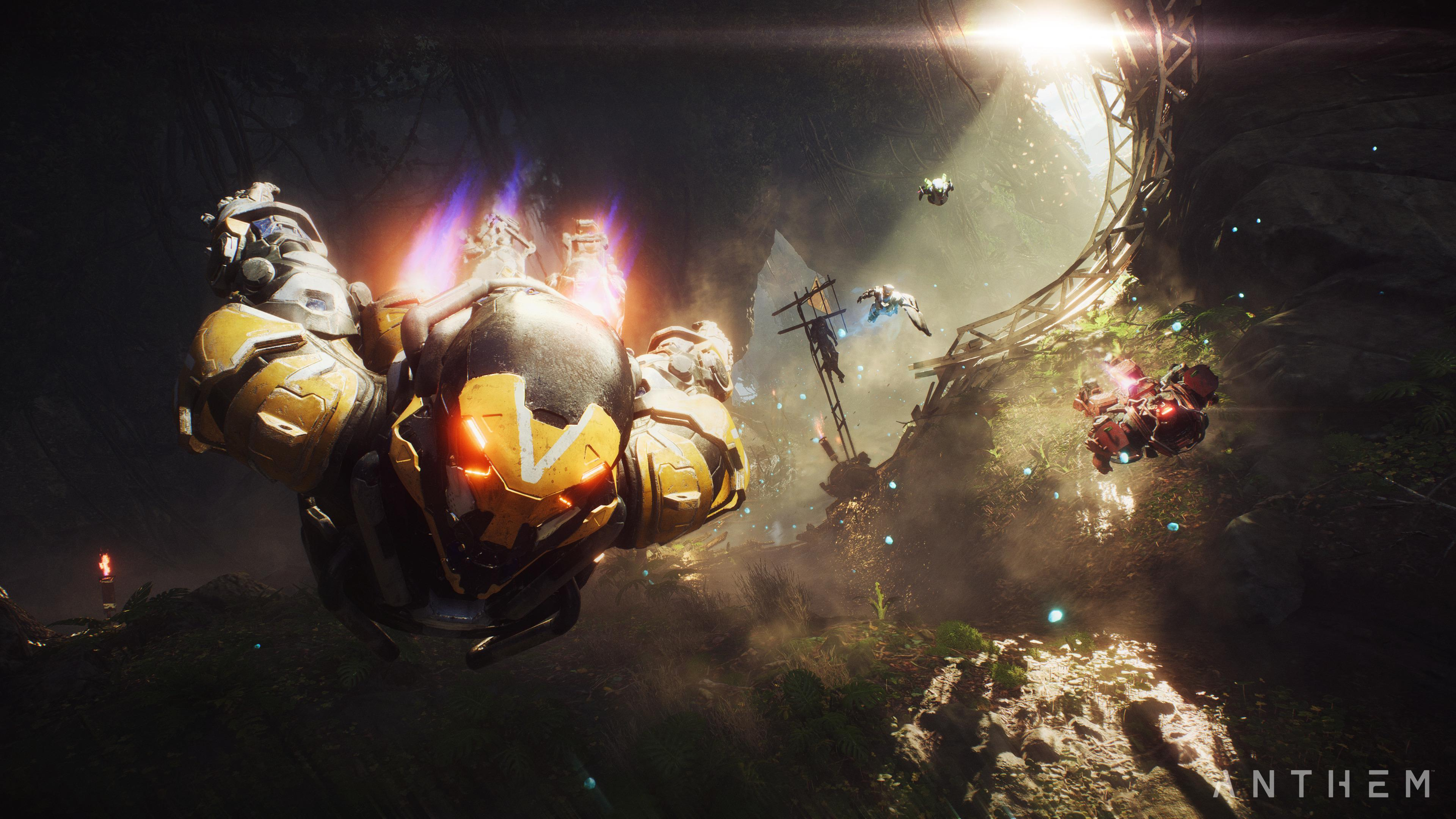 Anthem k HD Games k Wallpapers Images Backgrounds Photos and