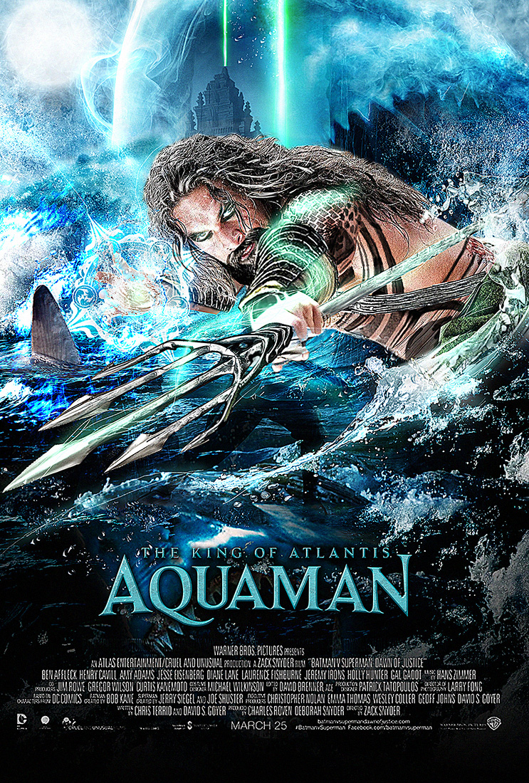 Aquaman Poster by MessyPandas on