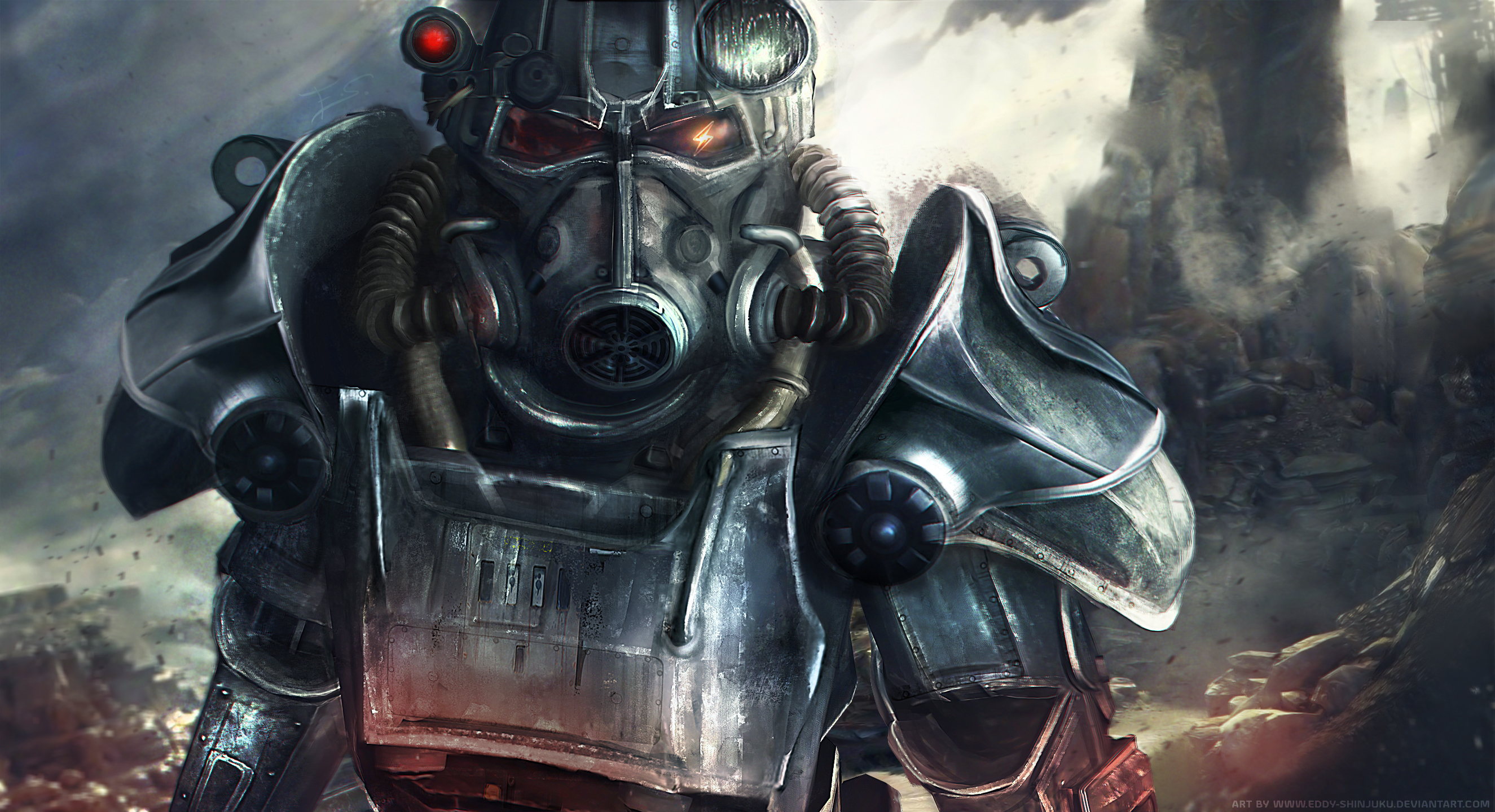 Power Armor Fallout HD Wallpapers Background Images