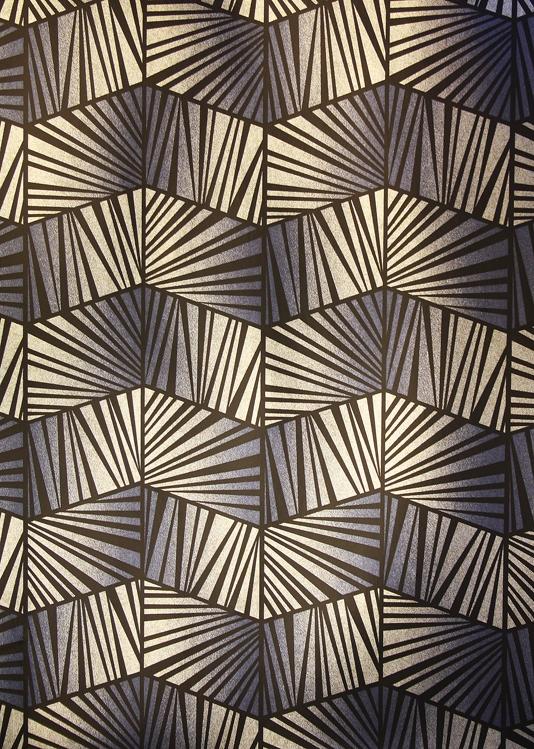 Art Deco Wallpaper 027 - Wallpaper Behang