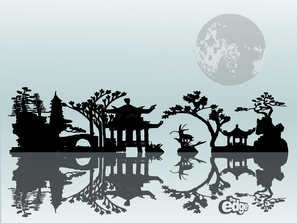 Asian Background Wallpaper   1024x768