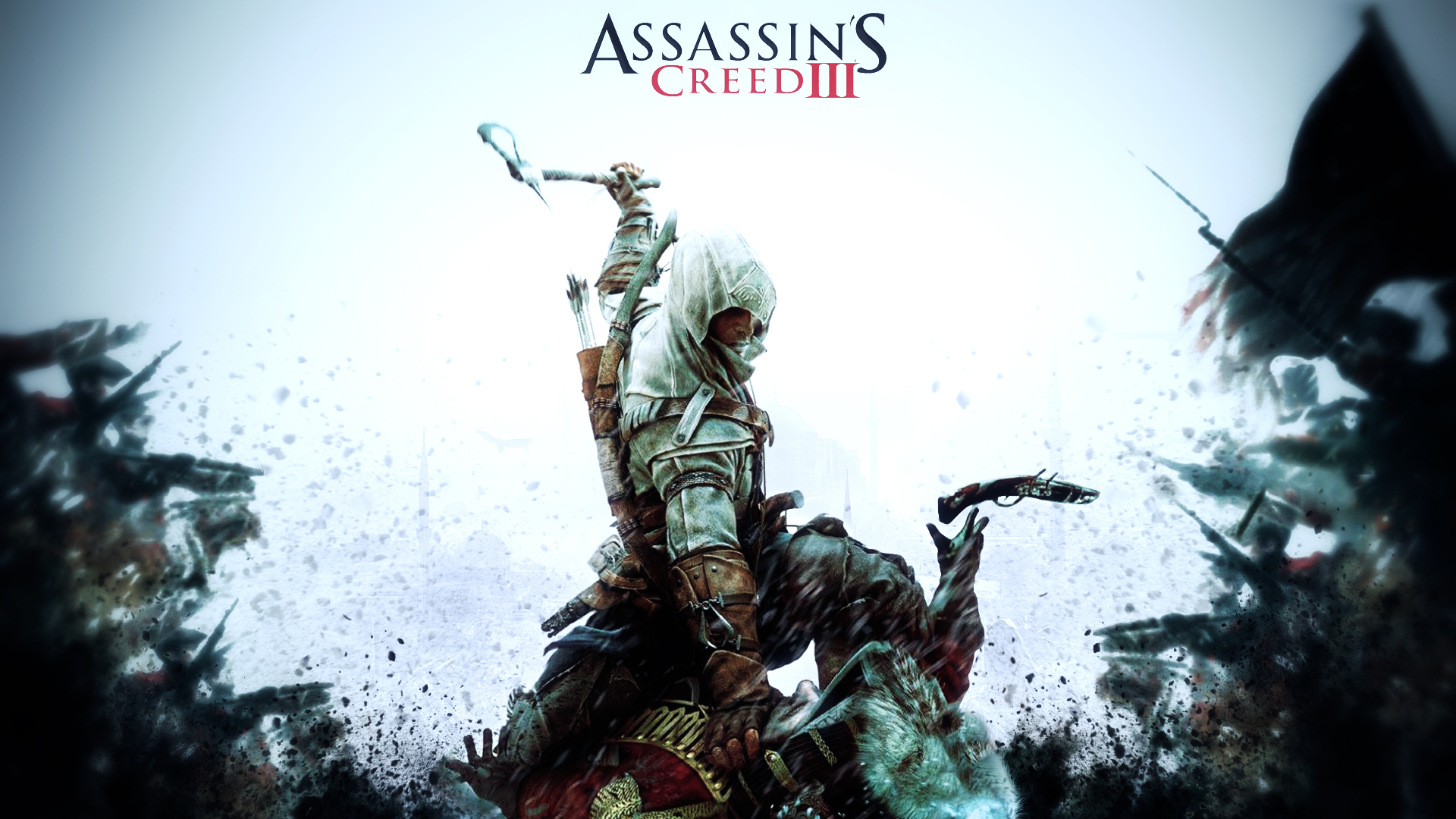 Assassins creed iii hd desktop wallpaper widescreen high 1920x1080 voltagebd Gallery