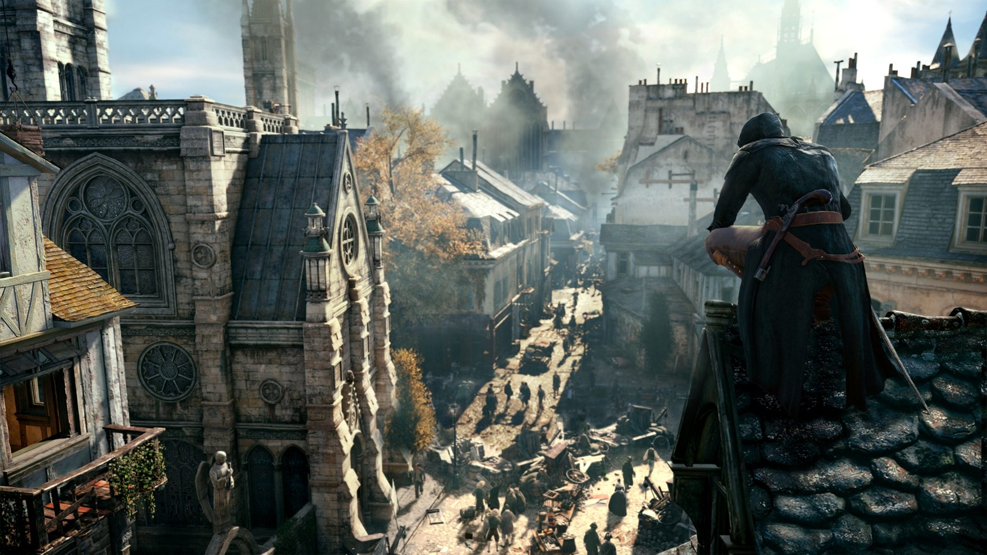 Assassins Creed Unity Wallpaper 1920x1080
