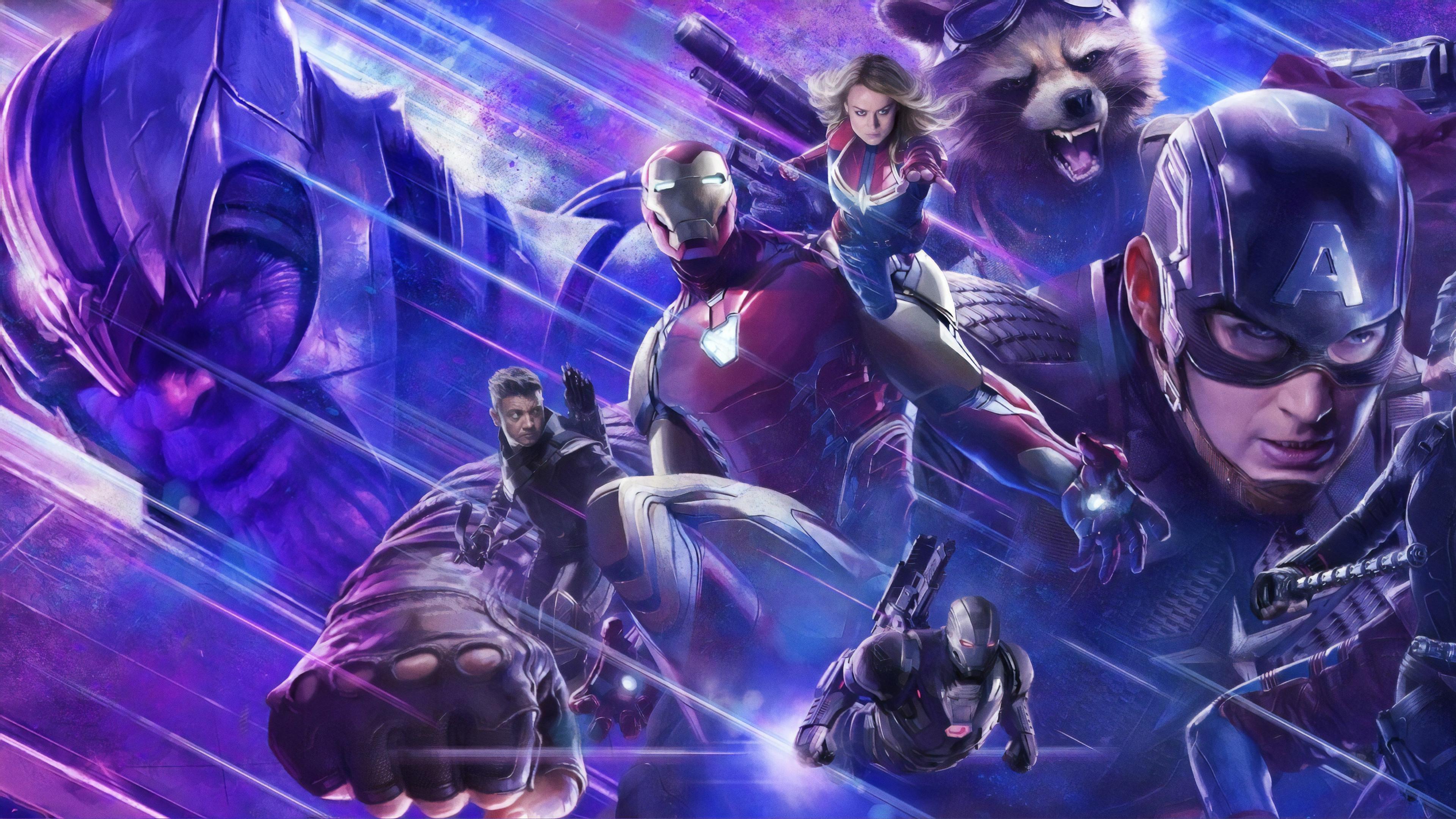 Avengers Endgame Desktop Wallpapers