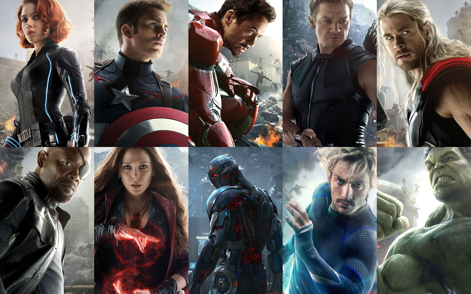 Download Hd Wallpapers Of Avengers Group 1920x1200
