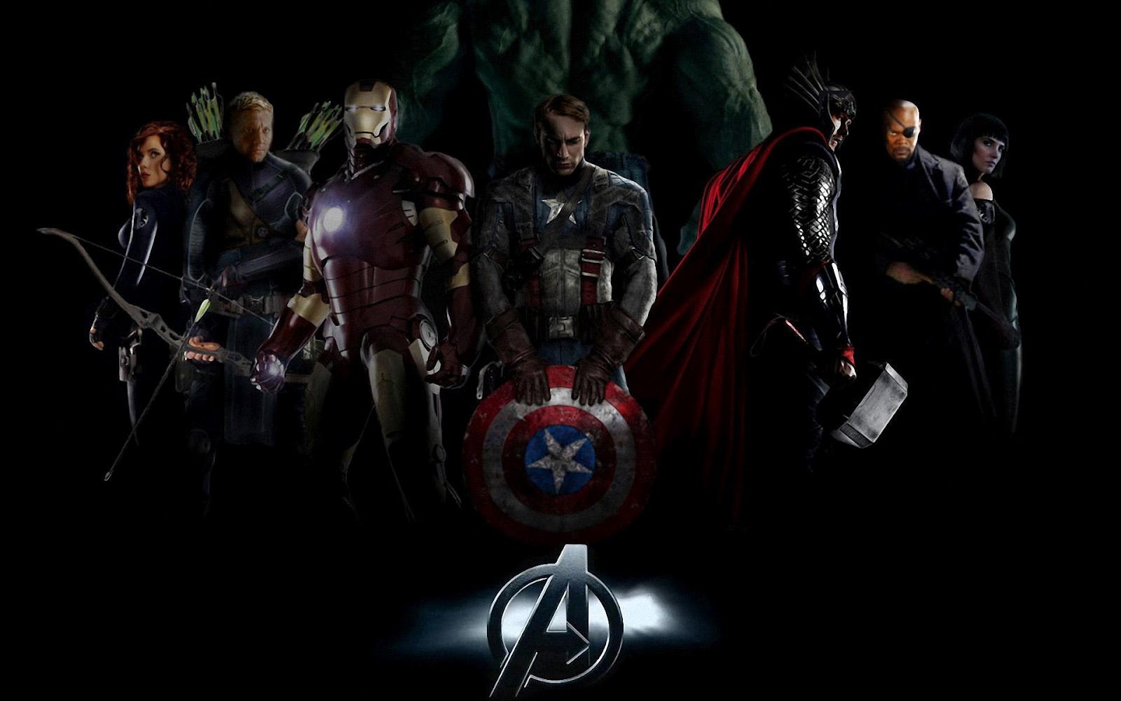 Download Hd Wallpapers Of Avengers Group 1600x1000