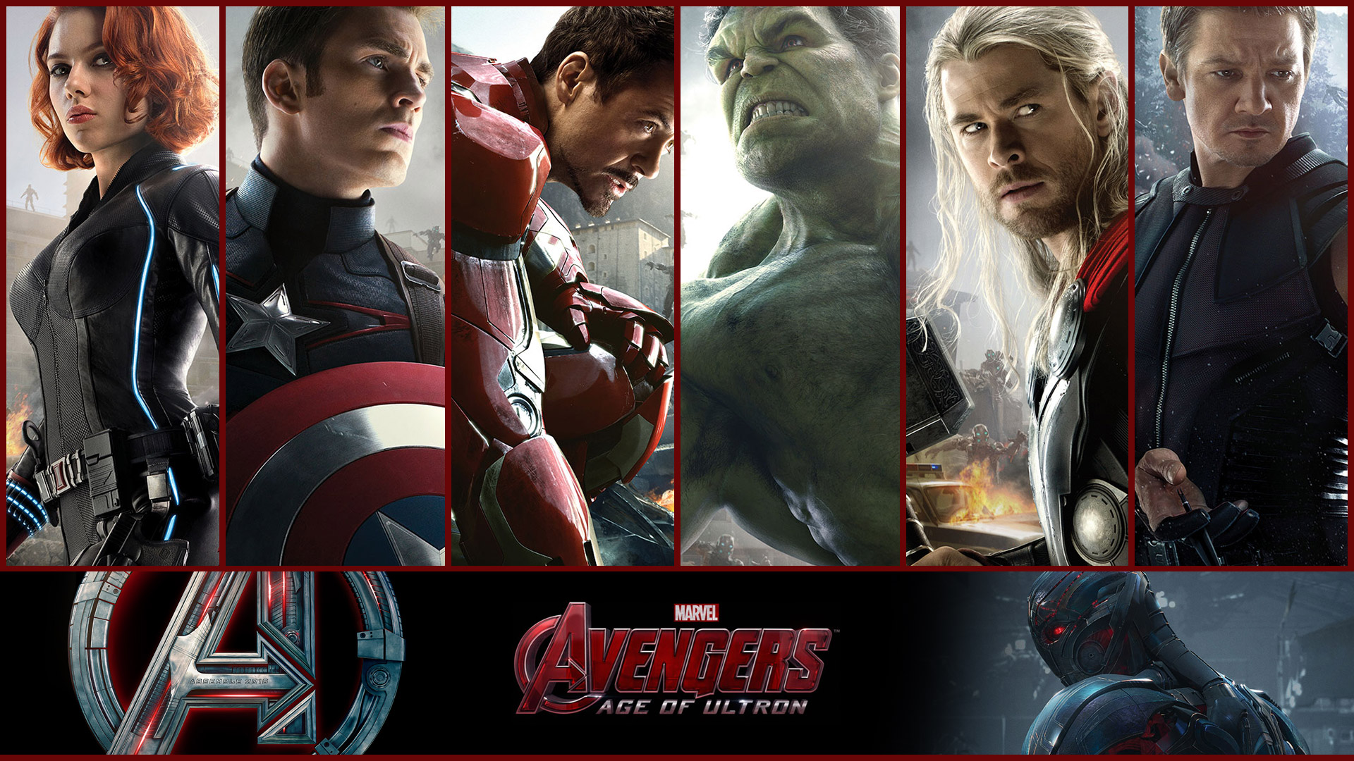 Download HD Wallpapers Of Avengers Group  1920x1080