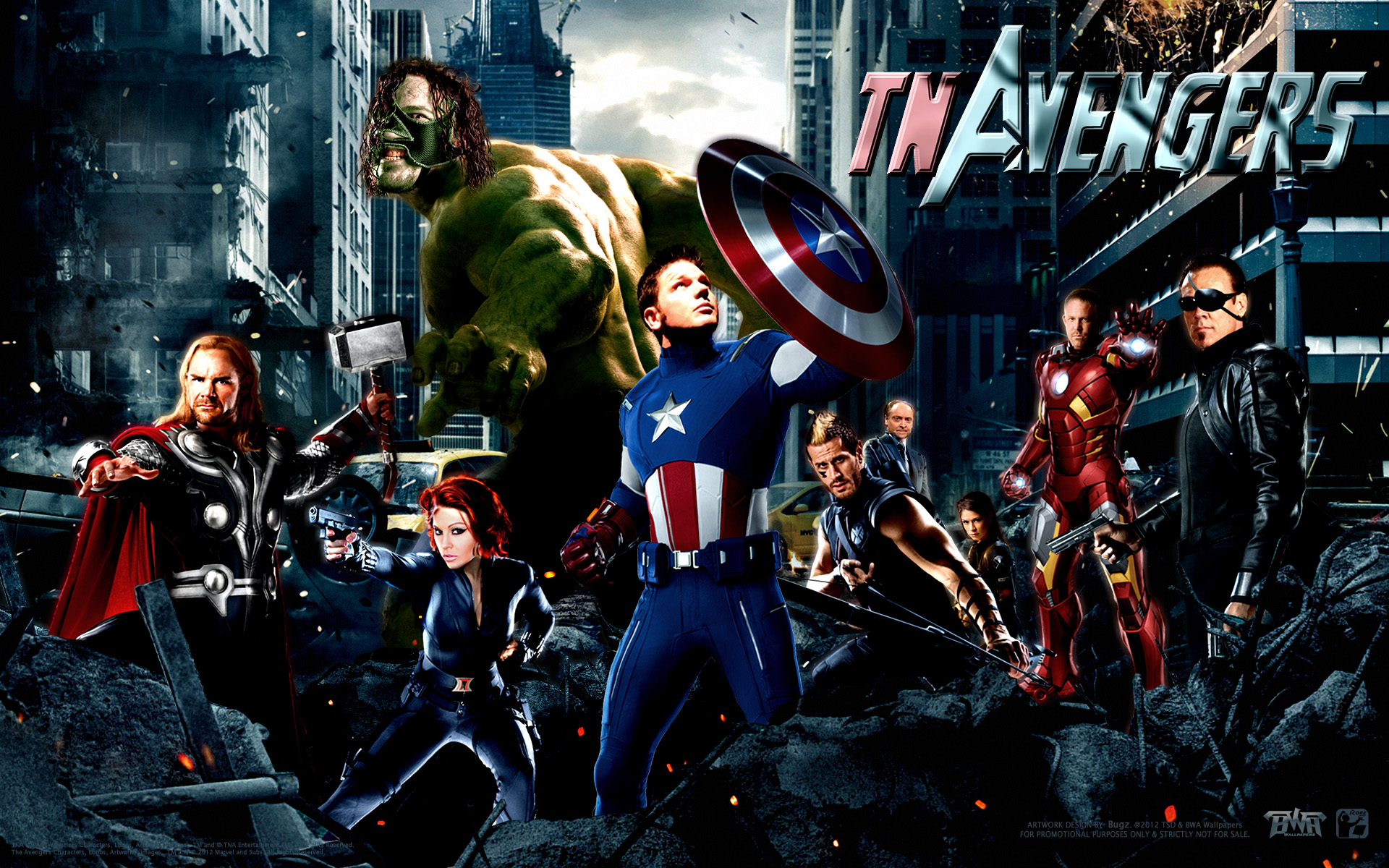 The Avengers Wallpaper Collection  1920x1200