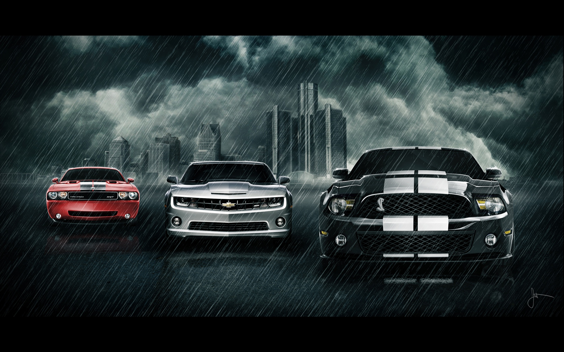 Cool Muscle Car Wallpapers 1920x1200