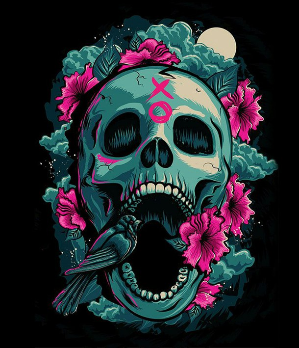 Awesome Skull Backgrounds (43 Wallpapers)