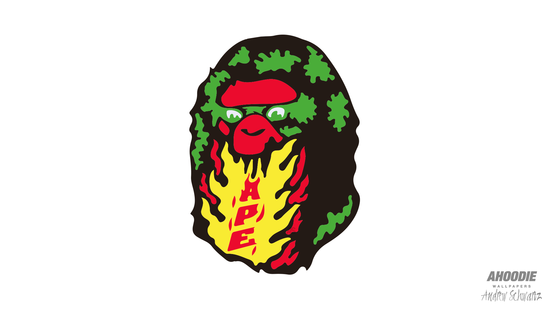 Bape wallpapers iphone hd wallpaper for Fond ecran supreme