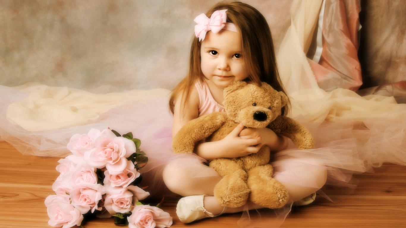 Cute Baby Smile Hd Wallpapers Pics Download Hd Walls 1366x768