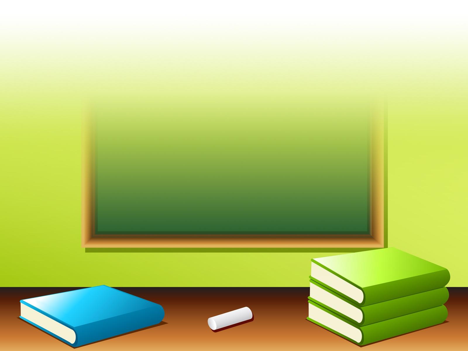 School desk wallpaper