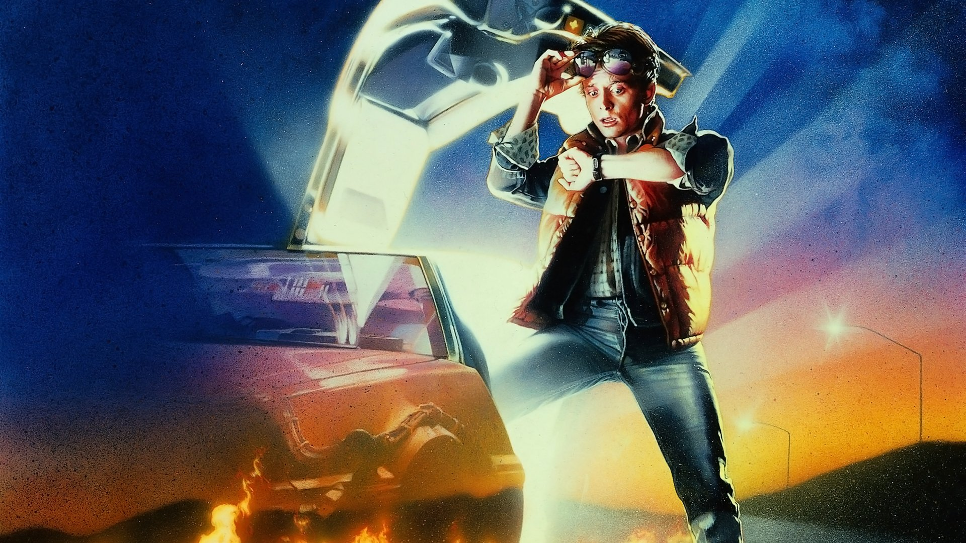 Back To The Future Wallpaper Iphone  images free download 1920x1080