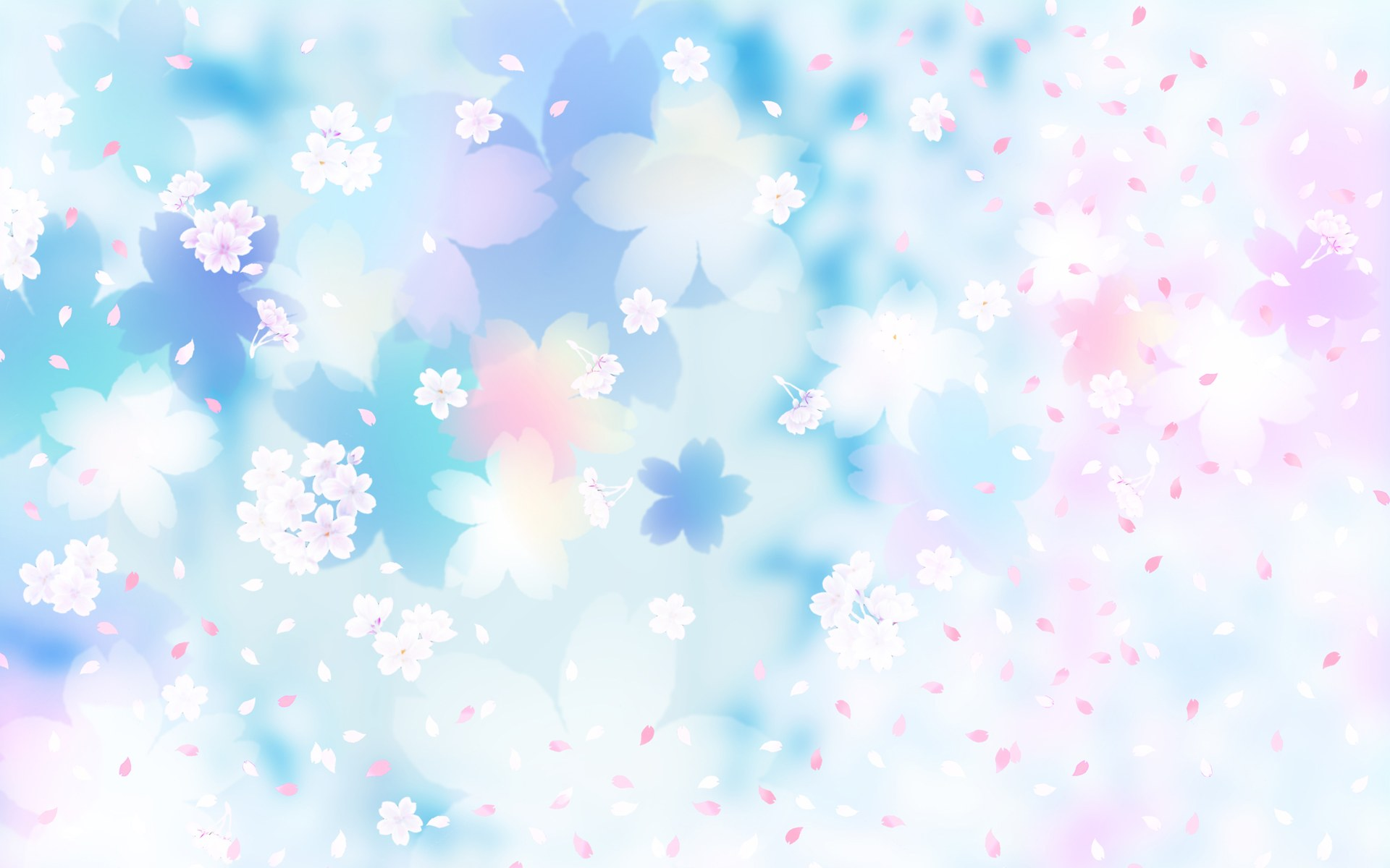 Pink Floral Background Vector Vector Free Download 1920x1200