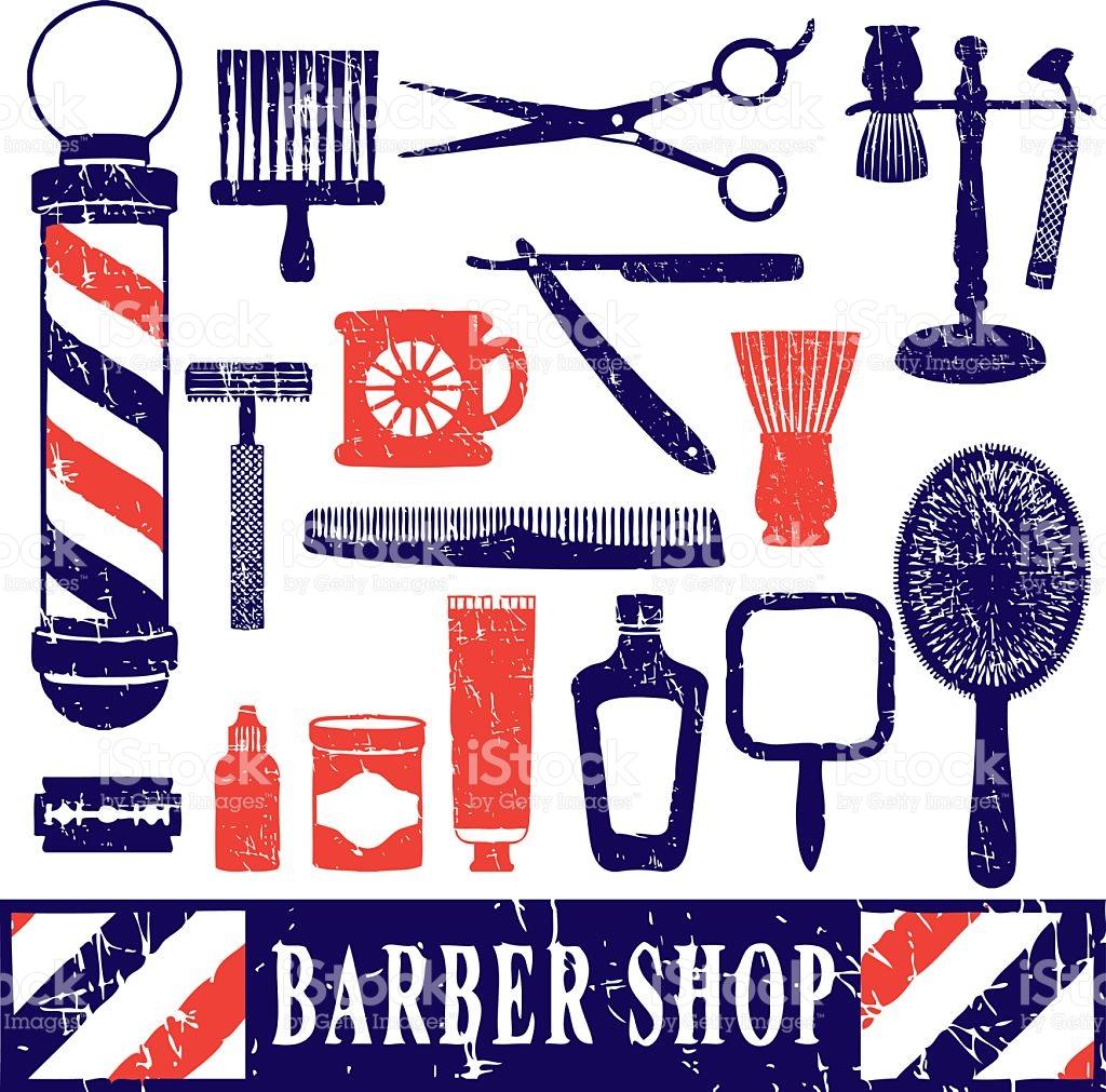 barber shop wallpaper 1024x1011