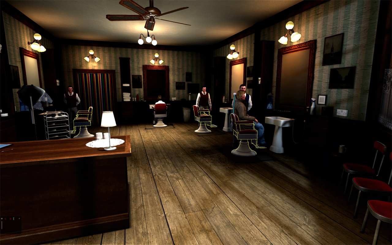 barbershop wallpapers group 1280x800
