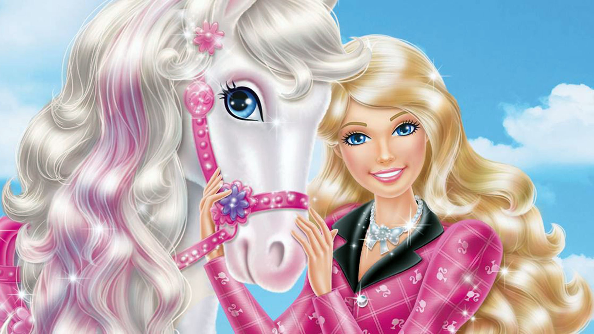 Top  Beautiful Lovely Cute Barbie Doll HD Wallpapers Images 1920x1080