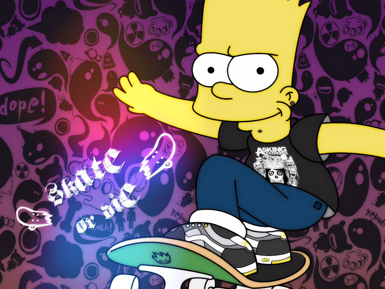 Download Bart Simpson wallpaper HD wallpapers 1280x960